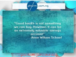 Health nudgets at pharm.com.ng